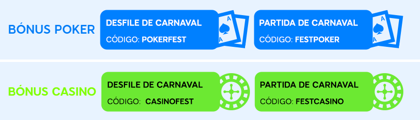 bónus de carnaval - 888.pt