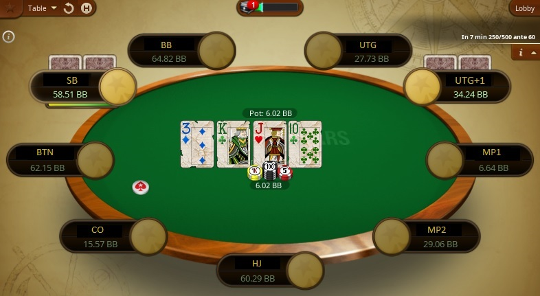 Turn Pokerstars.pt